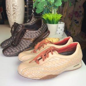2 Pairs Nike Air x Cole Haan Bria Woven Sneakers